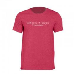 """T-shirt """"grimpeur à la française"""""""