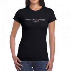 """T-shirt """"Princesse ? non, mais triathlète."""""""