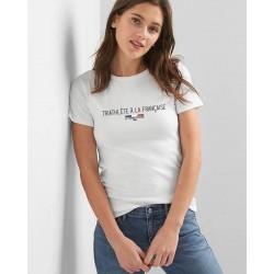 """T-shirt femme """"Triathlète à la française"""""""